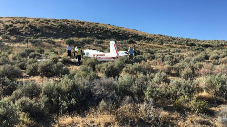 Plane Crash Coming From Burning Man Injures Three