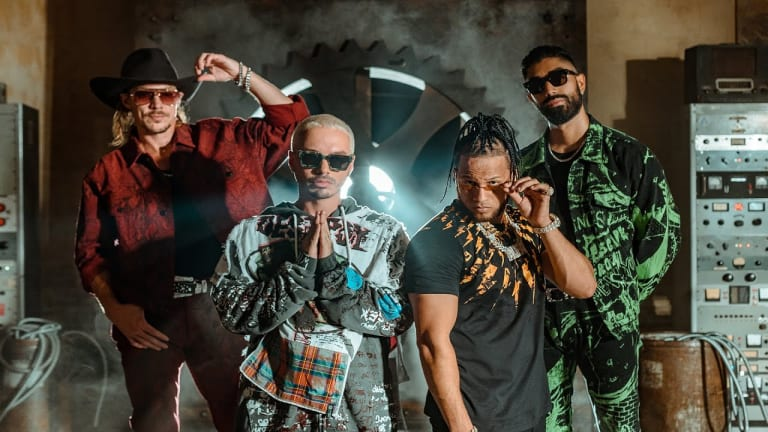 "Major Lazer Team Up with J Balvin & El Alfa On ""Que Calor"""