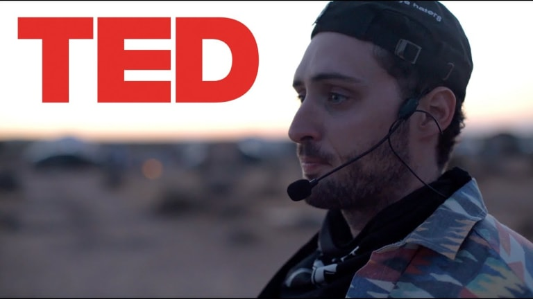 Blake Webber to Give Fake TED Talk on Lost Lands Festival Campgrounds