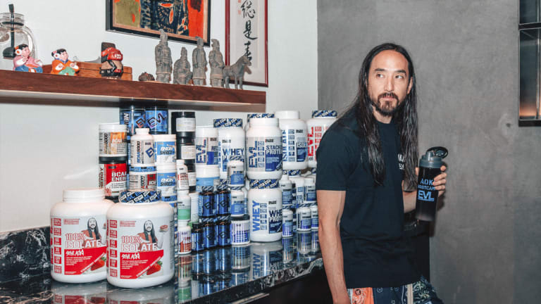 Steve Aoki and EVL Launch Award-Winning Strawberry Shortcake Protein Powder