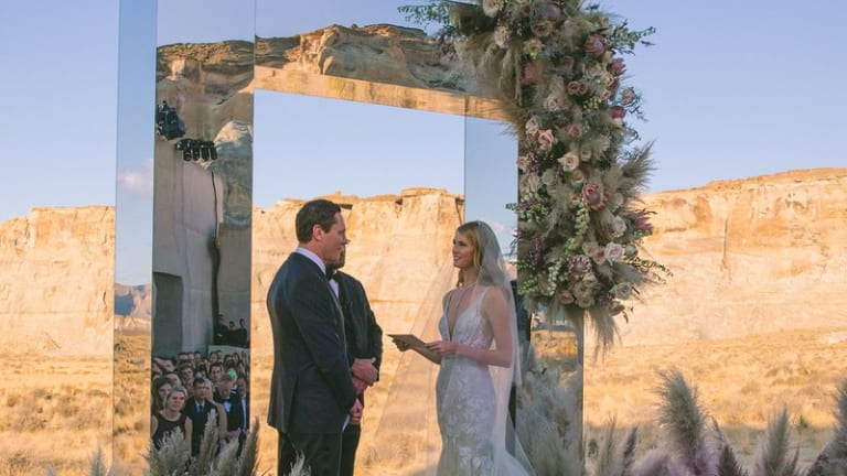 Tiësto Tied the Knot with Model Annika Backes in the Beautiful Utah Desert