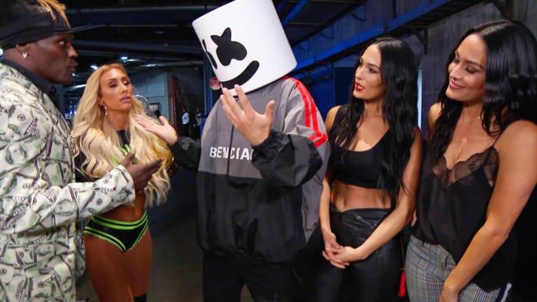 WWE SmackDown's Latest Champion? Marshmello
