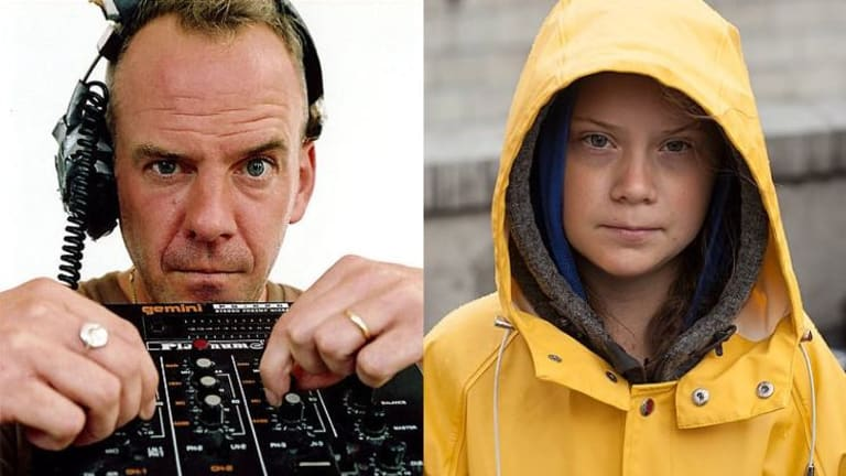 "Fatboy Slim Pays Tribute To Greta Thunberg Through ""Right Here, Right Now"" Mashup"
