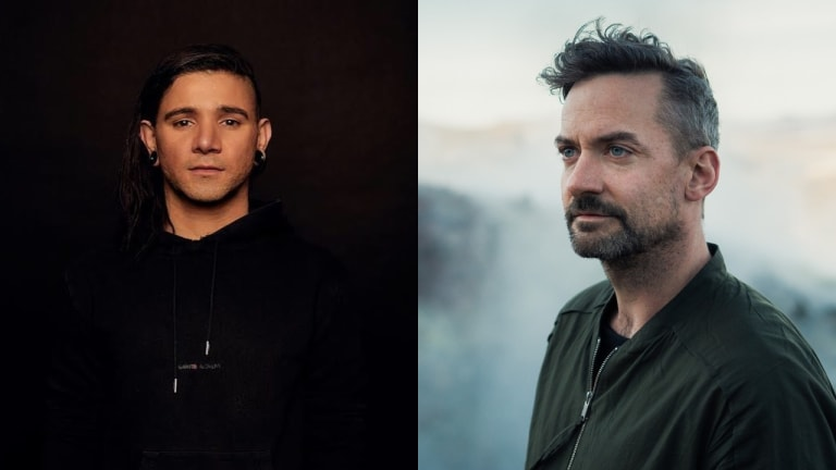 Skrillex and Bonobo Play Suprise B2B at Printworks in London