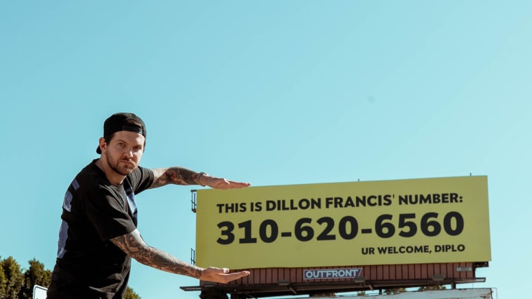 Diplo and Dillon Francis Stage Billboard Prank as Guerilla Promotion