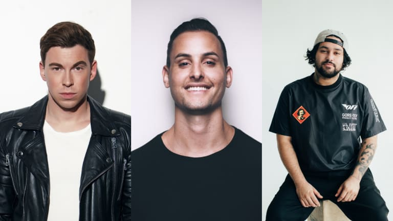 "Hardwell, MAKJ, and Deorro Join Forces on ""Left Right"" ft. Fatman Scoop"
