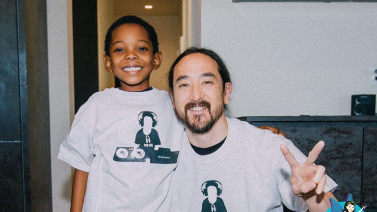 Steve Aoki Grants 6-Year Old's Wish, Invites Child and Family to Studio