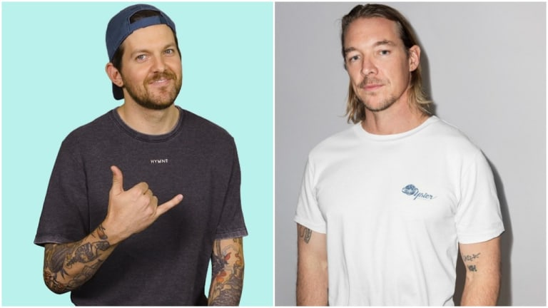 Diplo and Dillon Francis Compete in a Game of Truth or Dab on Hot Ones