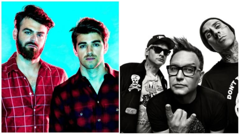 The Chainsmokers Tease Collab with Blink 182, Album Tracklist Now Available