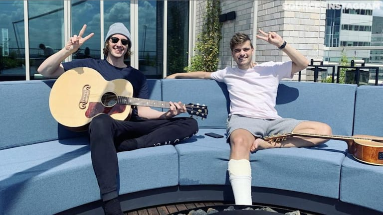 "Martin Garrix and Dean Lewis Go Behind the Scenes of ""Used To Love"""