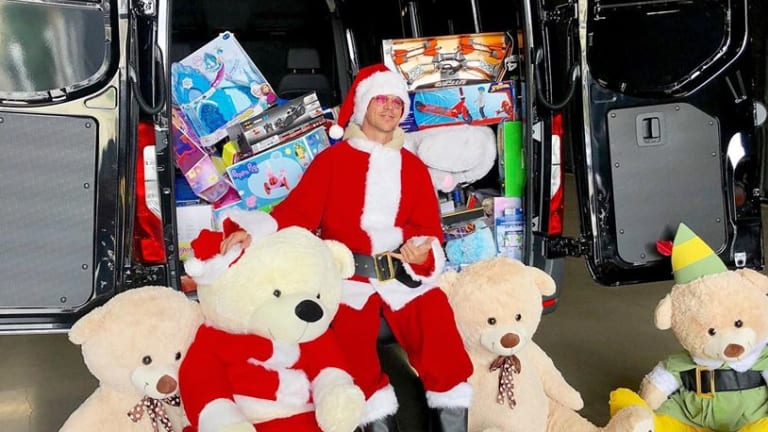 Diplo Presents Thomas Wesley's 1st Annual Holiday Toy Roundup with Trina's Kids Foundation