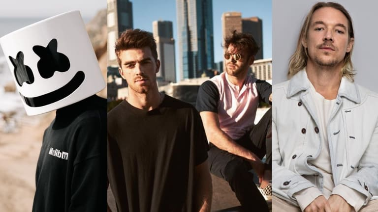 The Chainsmokers, Marshmello, Diplo, and More Nominated for iHeartRadio Music Awards
