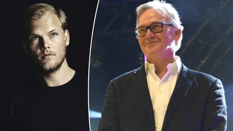 Avicii Receives Honorary Grammy, Father Accepts on His Behalf