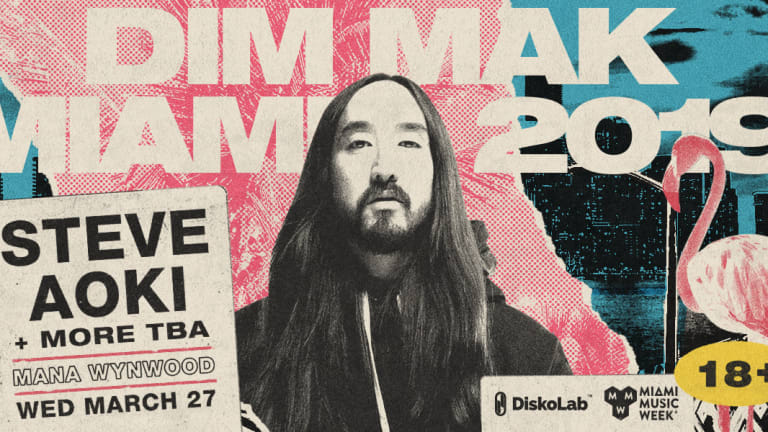 Steve Aoki and Dim Mak Return to Miami Music Week for Mana Wynwood Party