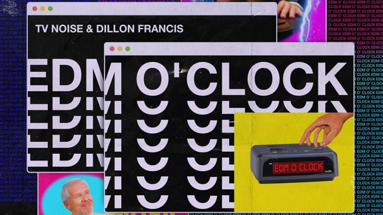 "Dillon Francis and TV Noise Release Unconventional New Track ""EDM O Clock"""