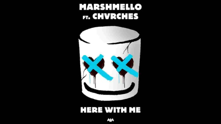 "Marshmello Teases New Track With CHVRCHES ""Here With Me"""