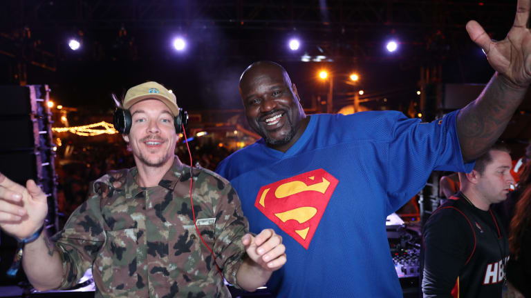 Shaq Reveals He's Working on Music With Diplo, Dreaming of a Skrillex Collab