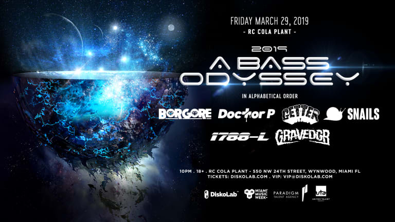 """2019: A Bass Odyssey"" Continues the Brand's Legacy as the Ultimate MMW Bass Event"