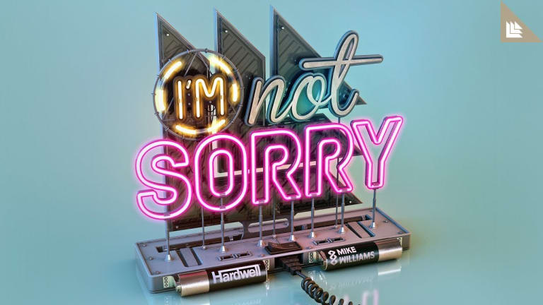 "Hardwell and Mike Williams Finally Release ""I'm Not Sorry"""