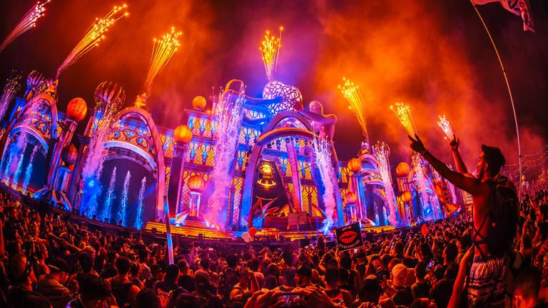 Pasquale Rotella Shares Concept Art for New Pixel Forest Area at EDC Las Vegas