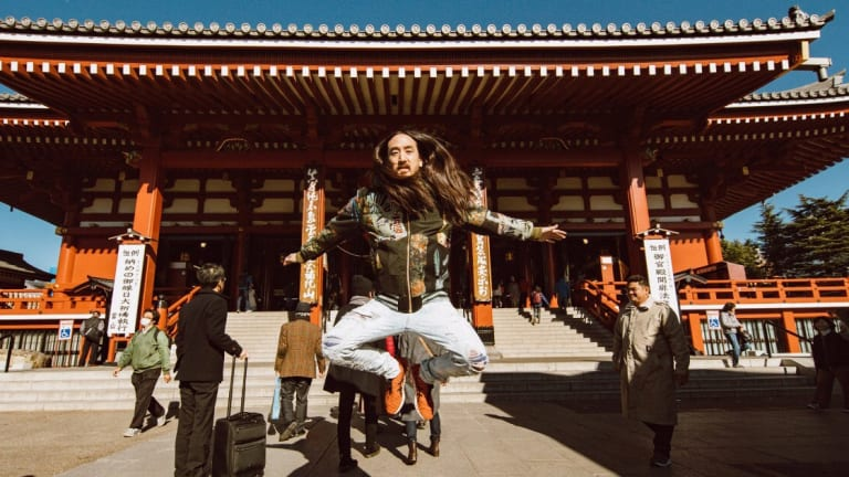 Steve Aoki Hosts All Nippon Airways' New Podcast, Aoki 'N Air