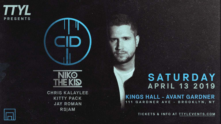 Grammy Award-Winning Producer CID Takes Over Kings Hall, Avant Gardner