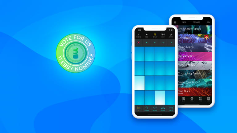 Beat Maker Go Nominated for Best Music App in the 23rd Annual Webby Awards