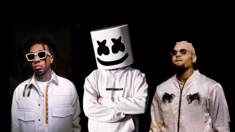 "Marshmello, Tyga and Chris Brown Release Radio-Ready ""Light It Up"""