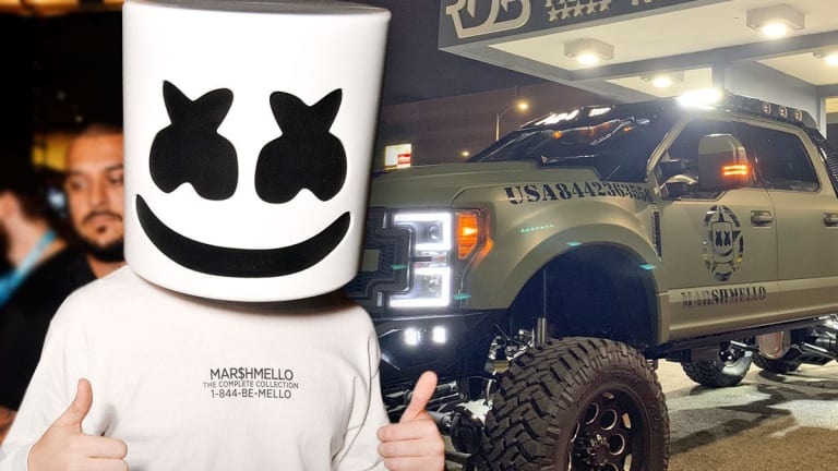 Marshmello Shows Off Custom Ride in New Video