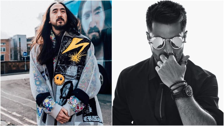 "Steve Aoki and Alok Release Trippy Music Video for ""Do It Again"""