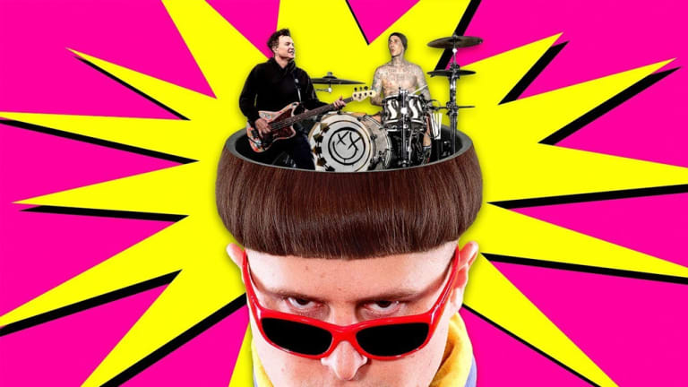 """Oliver Tree's """"Let Me Down"""" Receives Punk Remix from blink-182"""