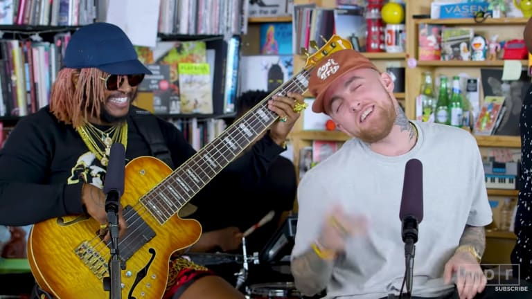 Iconic Electronica and Funk Musician Thundercat Says He Has a Full Album with Mac Miller
