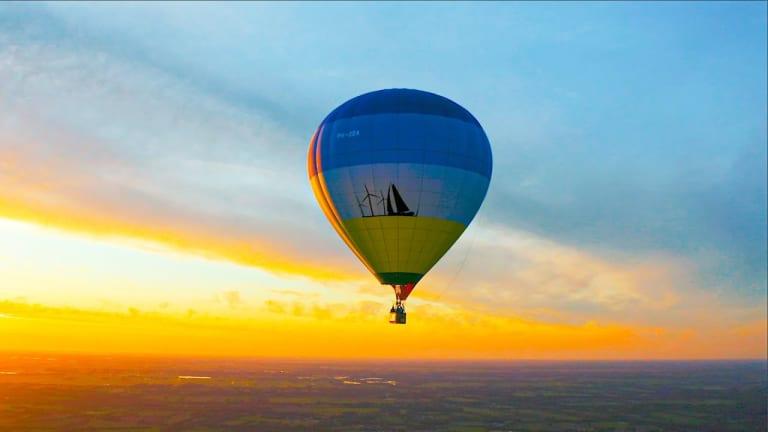 Watch Mr. Belt & Wezol's Gravity-Defying DJ Set from a Hot Air Balloon