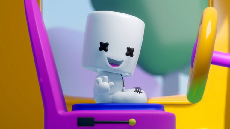 "Marshmello Unveils Miniature 'Lil Mello Character in Kids Channel ""Mellodees"""