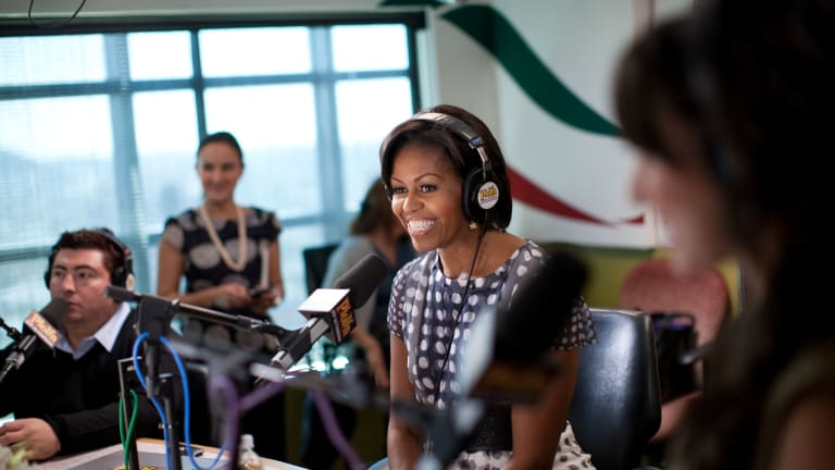 Michelle Obama Releases Spotify Playlist in Honor of New Podcast