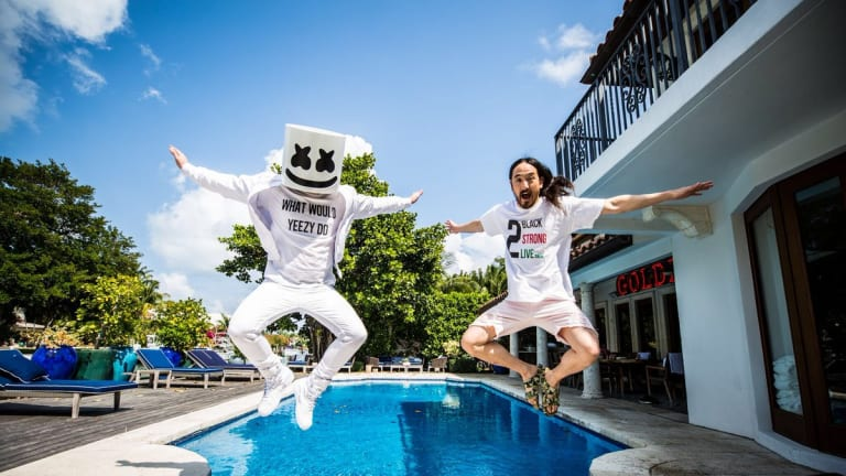Pandora Unveils Exclusive Playlist Series Featuring Steve Aoki, Gryffin, Marshmello, More