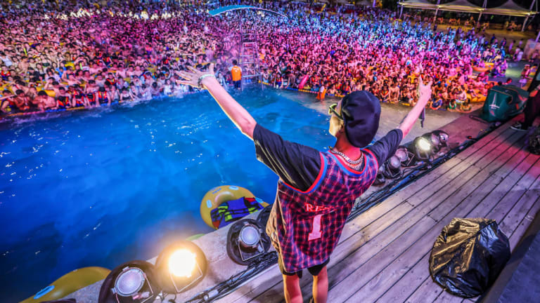 Wuhan, China Pool Rave Attracts Thousands in City Where COVID-19 Was First Identified