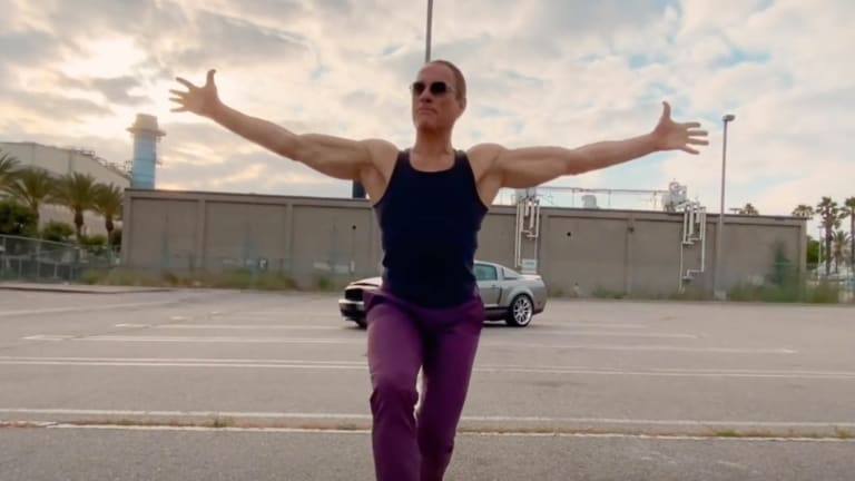 "Legendary ""Street Fighter"" Actor Jean-Claude Van Damme Stars in Music Video from Electronic Duo AaRON"