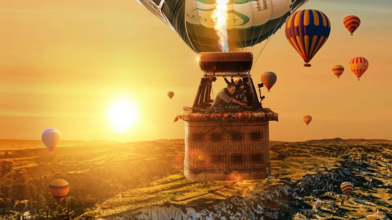 "Ben Böhmer on 3,000-Foot High Hot Air Balloon Performance: ""I'm a Bit Afraid of Heights"" [Interview]"