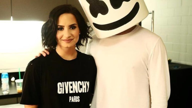 "Marshmello and Demi Lovato Tease Long-Awaited Collaboration ""Ok Not To Be Ok"""