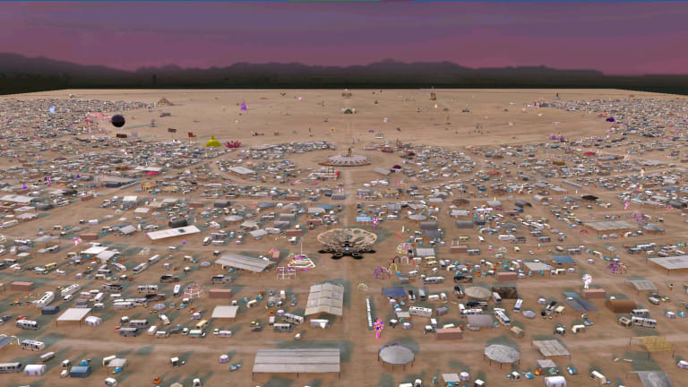 Look Inside the 2020 Virtual Burning Man Multiverse