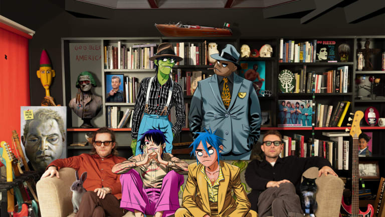 "Gorillaz Reveal Feature-Filled Tracklist for ""Song Machine"" Project with Elton John, Beck, More"