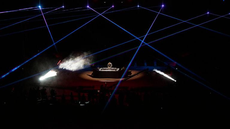 Look Inside Tiësto's Socially Distanced Red Rocks Amphitheatre Concert