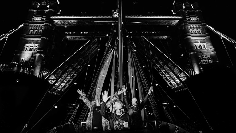 "Watch Above & Beyond Perform While Sailing the River Thames for ""Group Therapy 400"""
