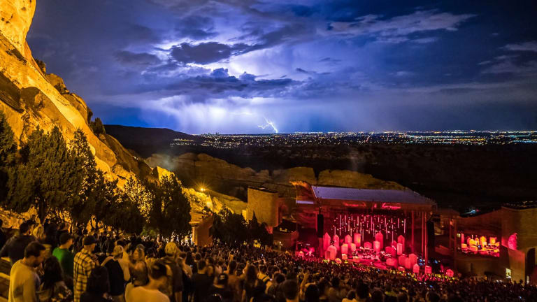 Red Rocks Amphitheatre to Offer COVID-19 Vaccinations During Concerts