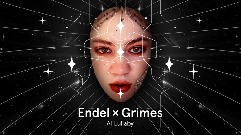 Listen to Grimes' Ambient, AI-Powered Electronic Lullaby
