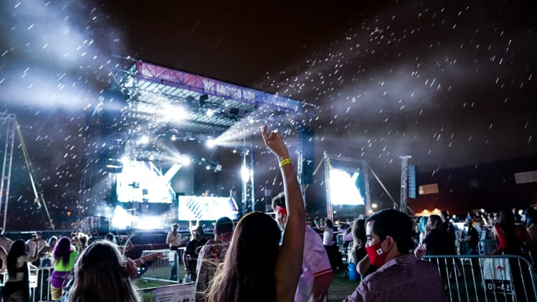 PHOTOS: Look Inside Subtronics' Socially Distanced Arizona Pod Concert