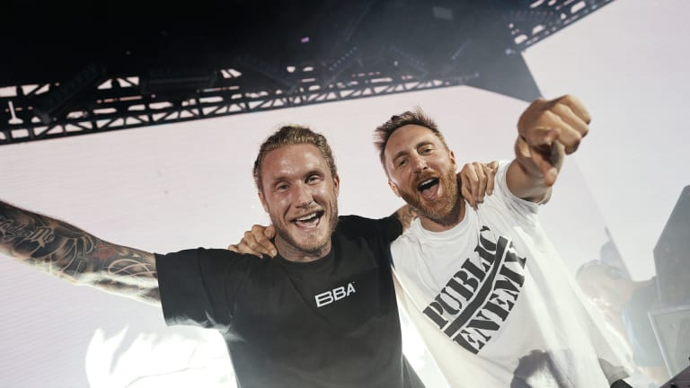 "Go Behind the Scenes of David Guetta and MORTEN's Gripping ""Save My Life"" Music Video [Exclusive]"