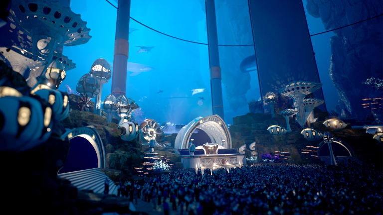 Tomorrowland Shows Off First Look At Jaw-Dropping NYE Virtual Festival Stages