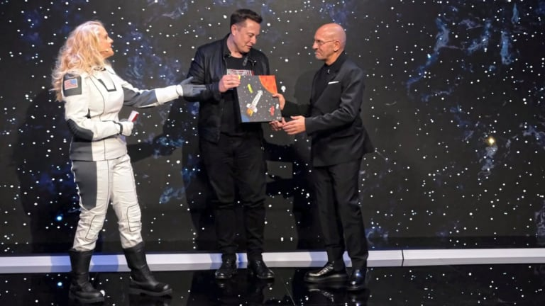 Sven Väth Gifts Elon Musk With Space Travel-Themed Soundtrack